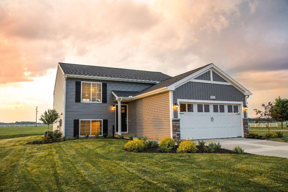 Exterior featured in the Integrity 2060 By Allen Edwin Homes in Elkhart-Goshen, IN