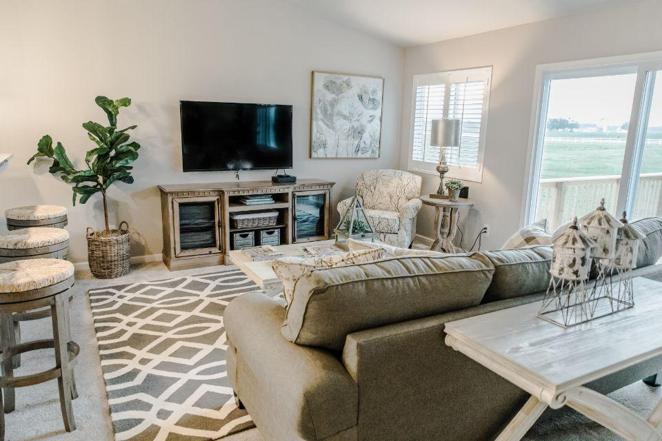 Living Area featured in the Integrity 2060 By Allen Edwin Homes in Grand Rapids, MI