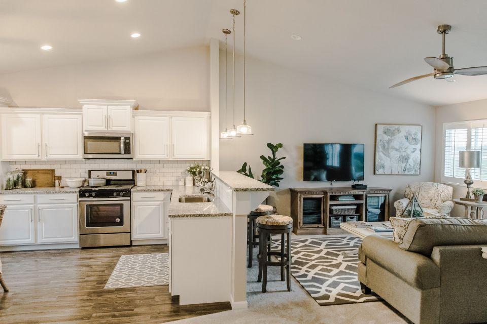 Living Area featured in the Integrity 2060 By Allen Edwin Homes in Ann Arbor, MI