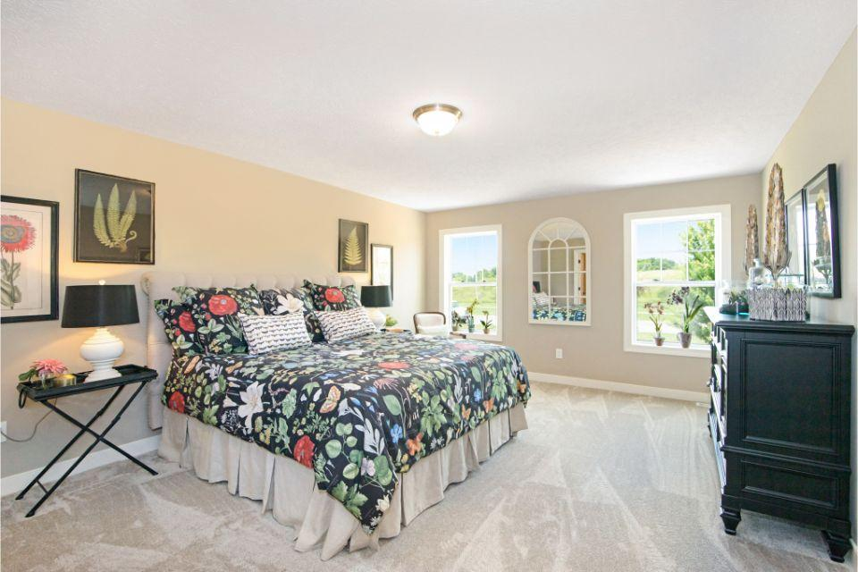 Bedroom featured in the Elements 2390 By Allen Edwin Homes in Lansing, MI