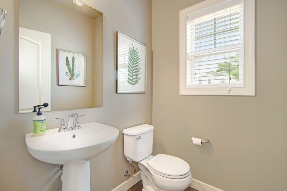 Bathroom featured in the Elements 2390 By Allen Edwin Homes in Lansing, MI