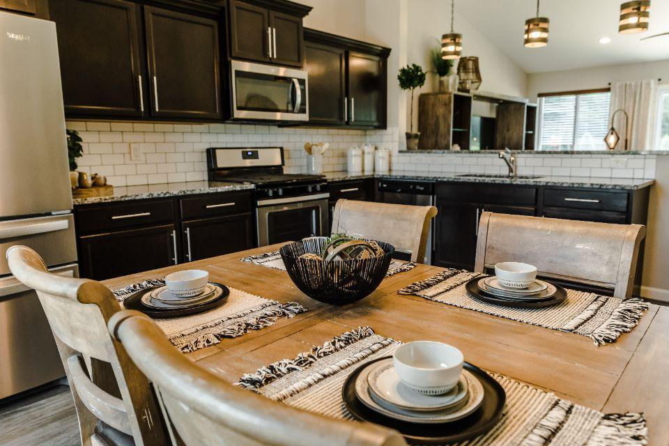 Kitchen featured in the Integrity 2060 By Allen Edwin Homes in Ann Arbor, MI