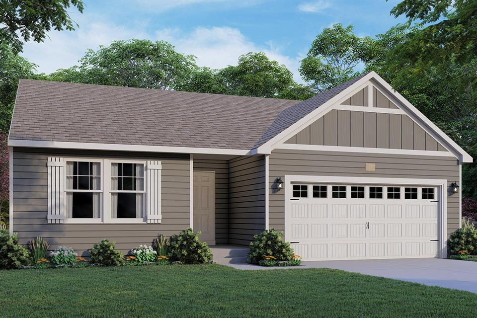 Exterior featured in the Integrity 1530 By Allen Edwin Homes in South Bend, IN