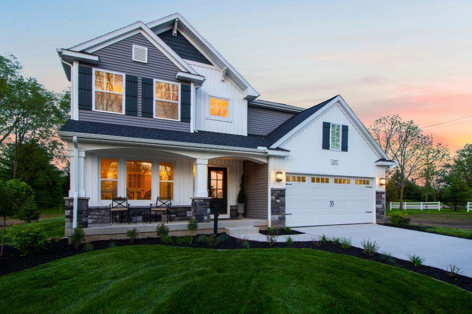 'Morgan Woods West' by Allen Edwin Homes in Grand Rapids
