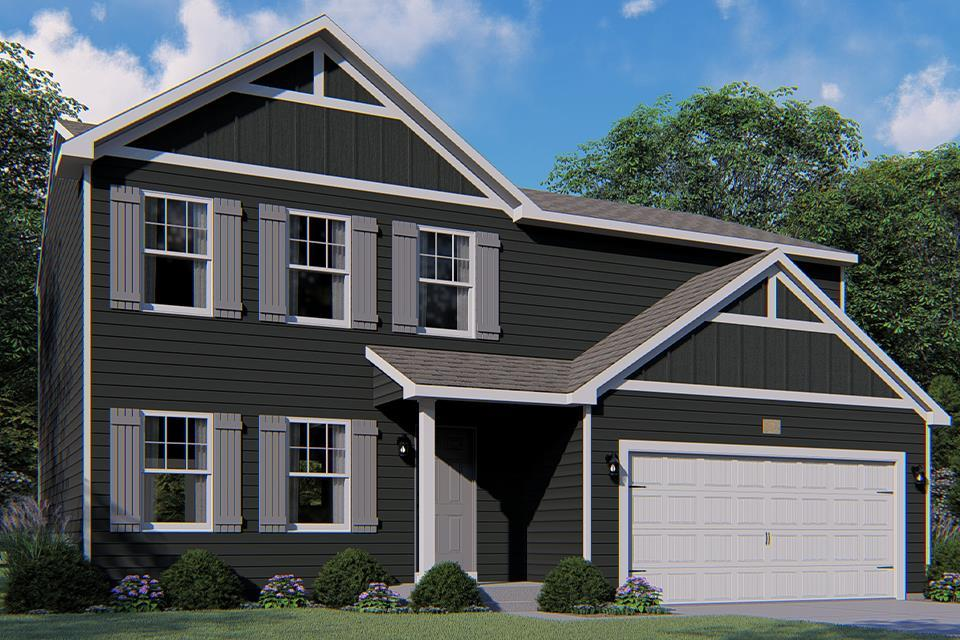 Exterior featured in the Integrity 1810 By Allen Edwin Homes in South Bend, IN