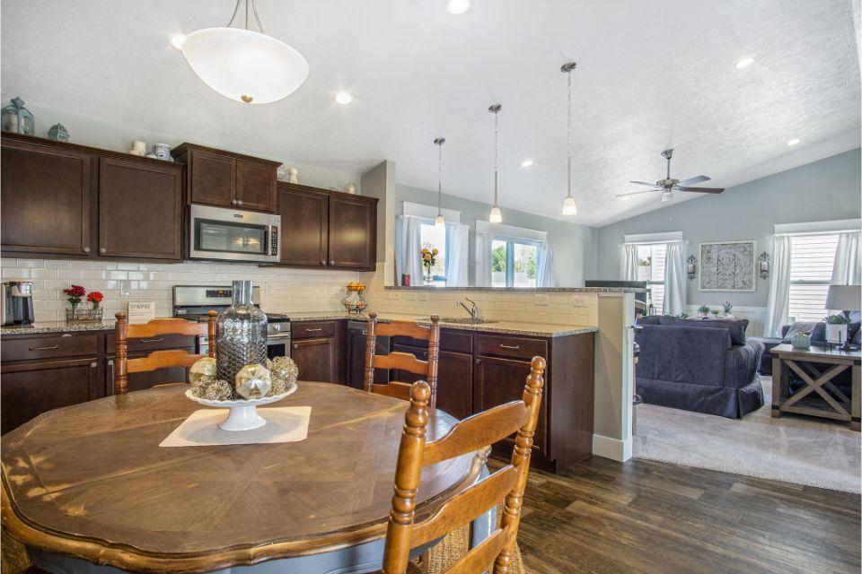 Kitchen featured in the Integrity 1750 By Allen Edwin Homes in Kalamazoo-Battle Creek, MI