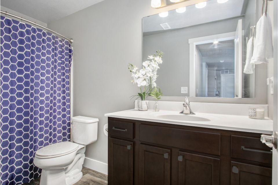 Bathroom featured in the Integrity 1750 By Allen Edwin Homes in Kalamazoo-Battle Creek, MI