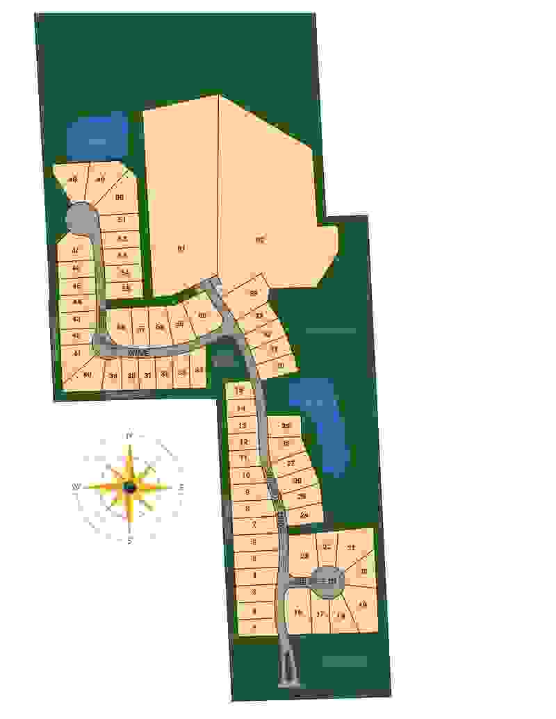 Stillwater Lot Map