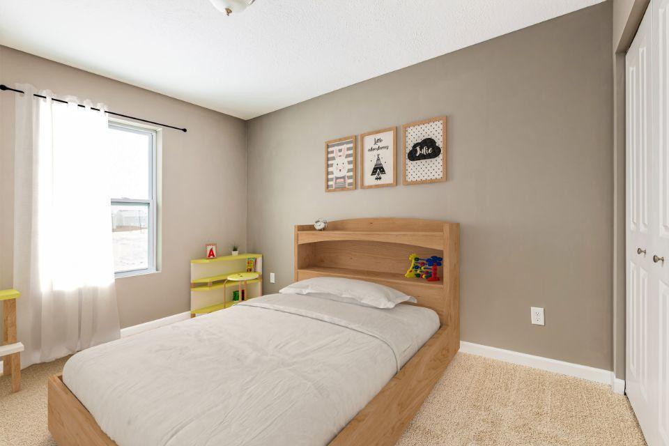 Bedroom featured in the Elements 1400 By Allen Edwin Homes in Benton Harbor, MI