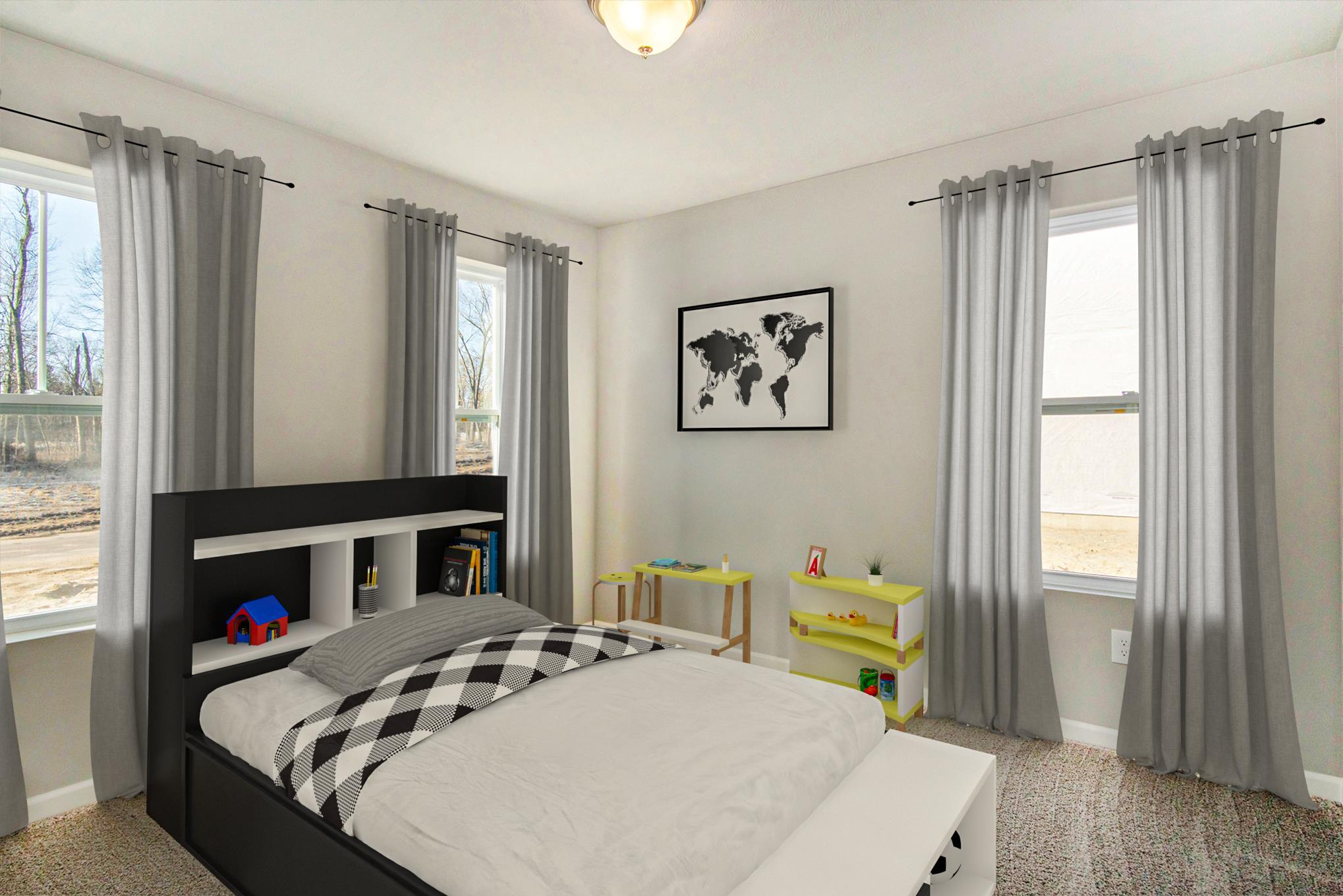 Bedroom featured in the Elements 1600 By Allen Edwin Homes in Grand Rapids, MI