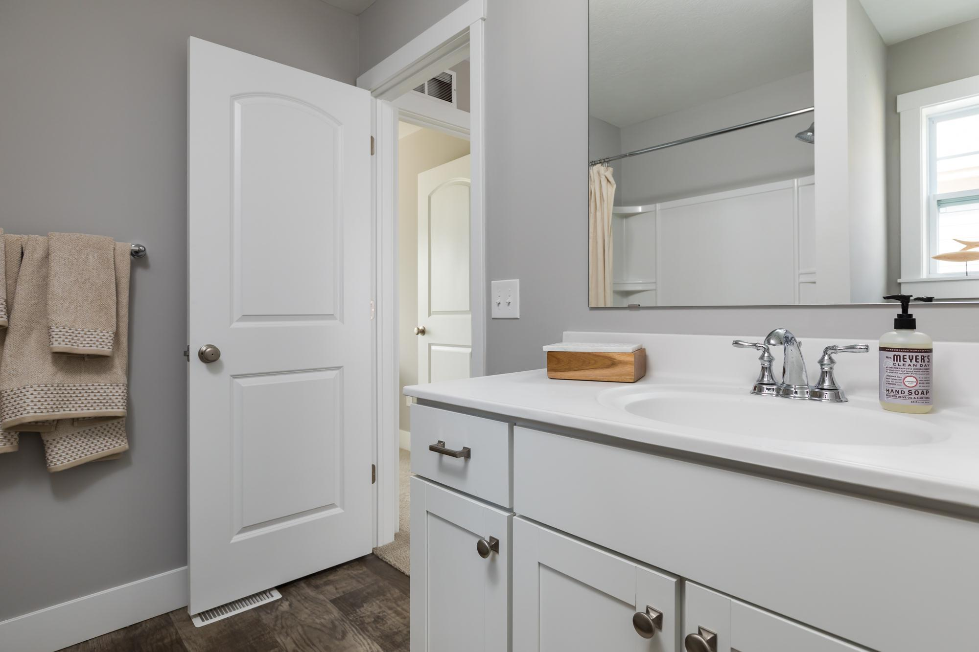 Bathroom featured in the Elements 1680 By Allen Edwin Homes in Grand Rapids, MI