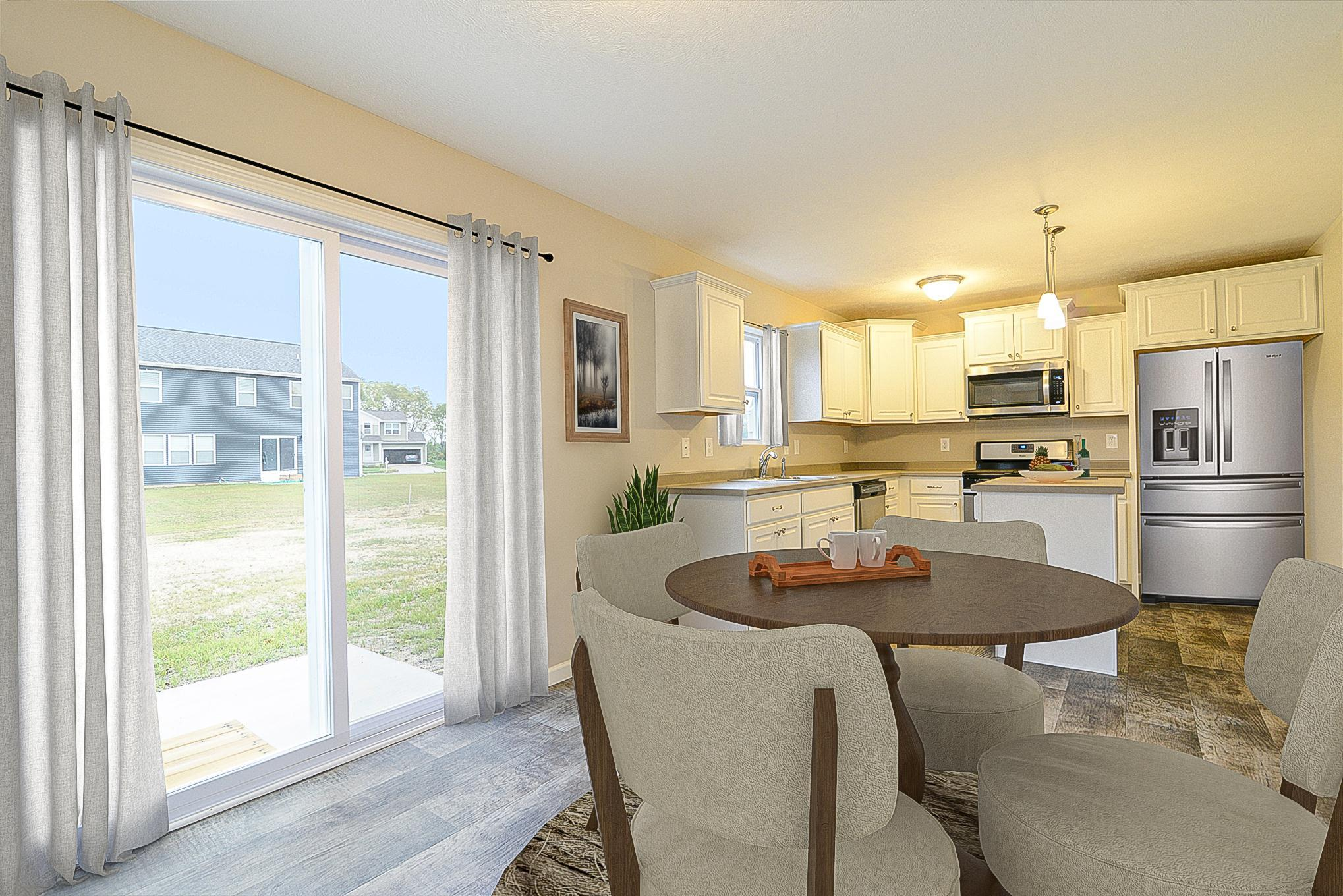 Kitchen featured in the Elements 1700 By Allen Edwin Homes in South Bend, IN