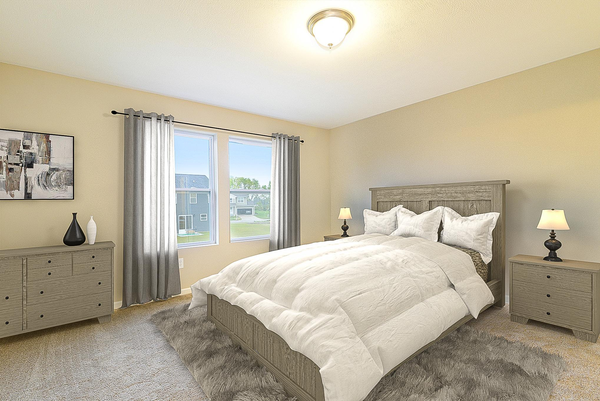Bedroom featured in the Elements 1700 By Allen Edwin Homes in South Bend, IN