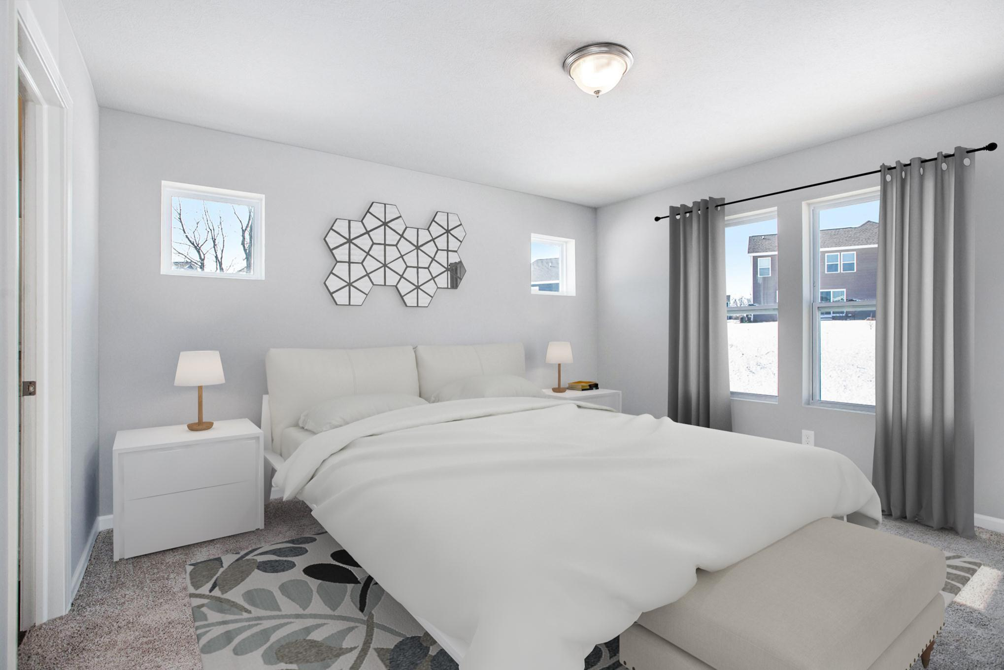 Bedroom featured in the Elements 1800 By Allen Edwin Homes in Ann Arbor, MI