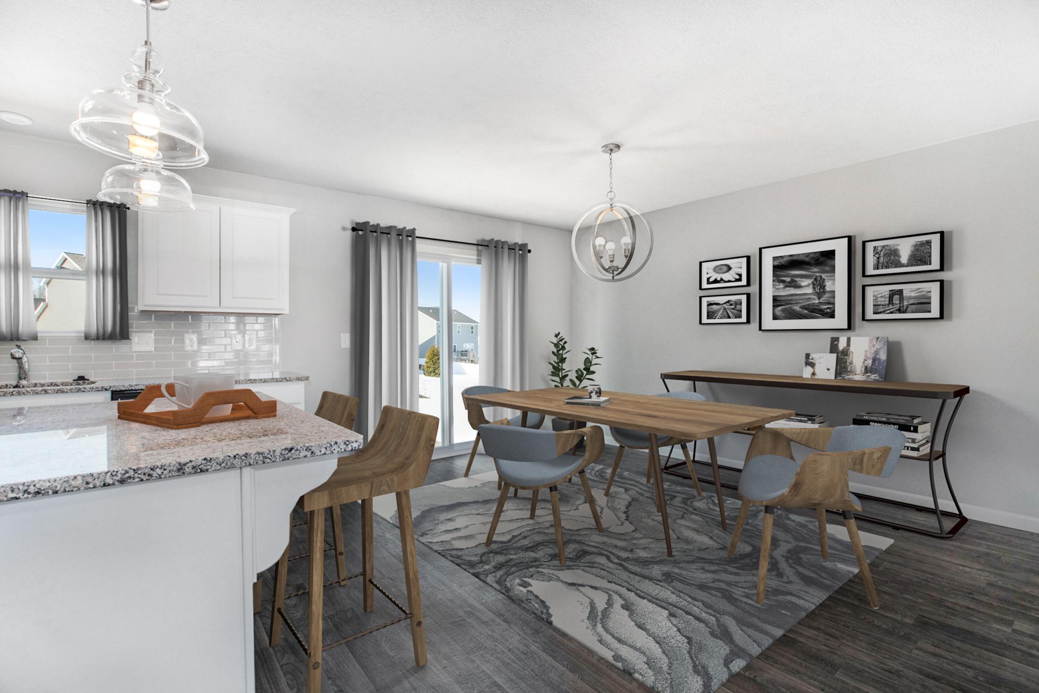 Kitchen featured in the Elements 1800 By Allen Edwin Homes in Benton Harbor, MI