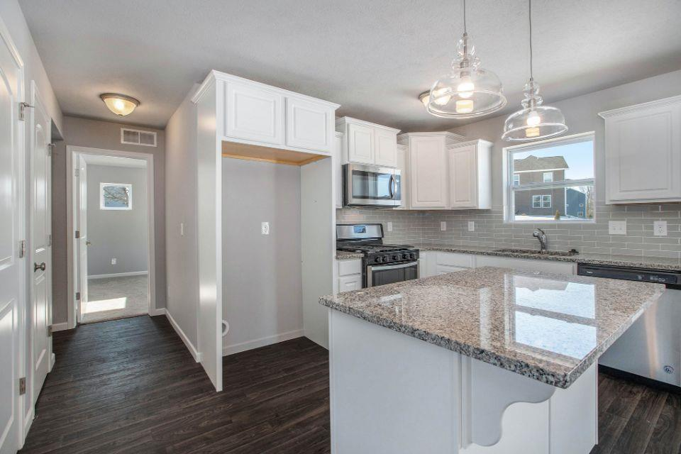 Kitchen featured in the Elements 1800 By Allen Edwin Homes in South Bend, IN