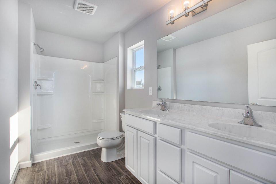 Bathroom featured in the Elements 1800 By Allen Edwin Homes in Kalamazoo-Battle Creek, MI