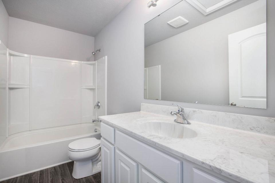 Bathroom featured in the Elements 1800 By Allen Edwin Homes in South Bend, IN