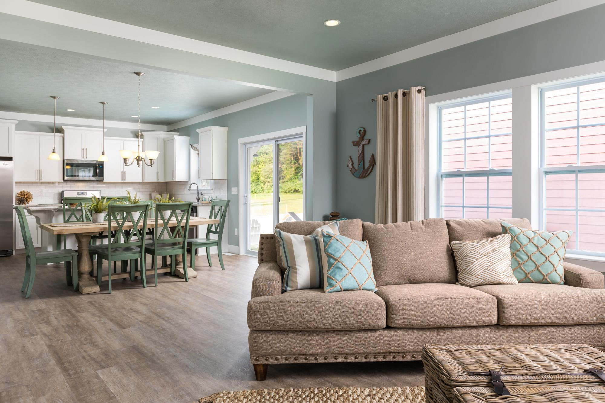 Living Area featured in the Elements 2390 By Allen Edwin Homes in Kalamazoo-Battle Creek, MI