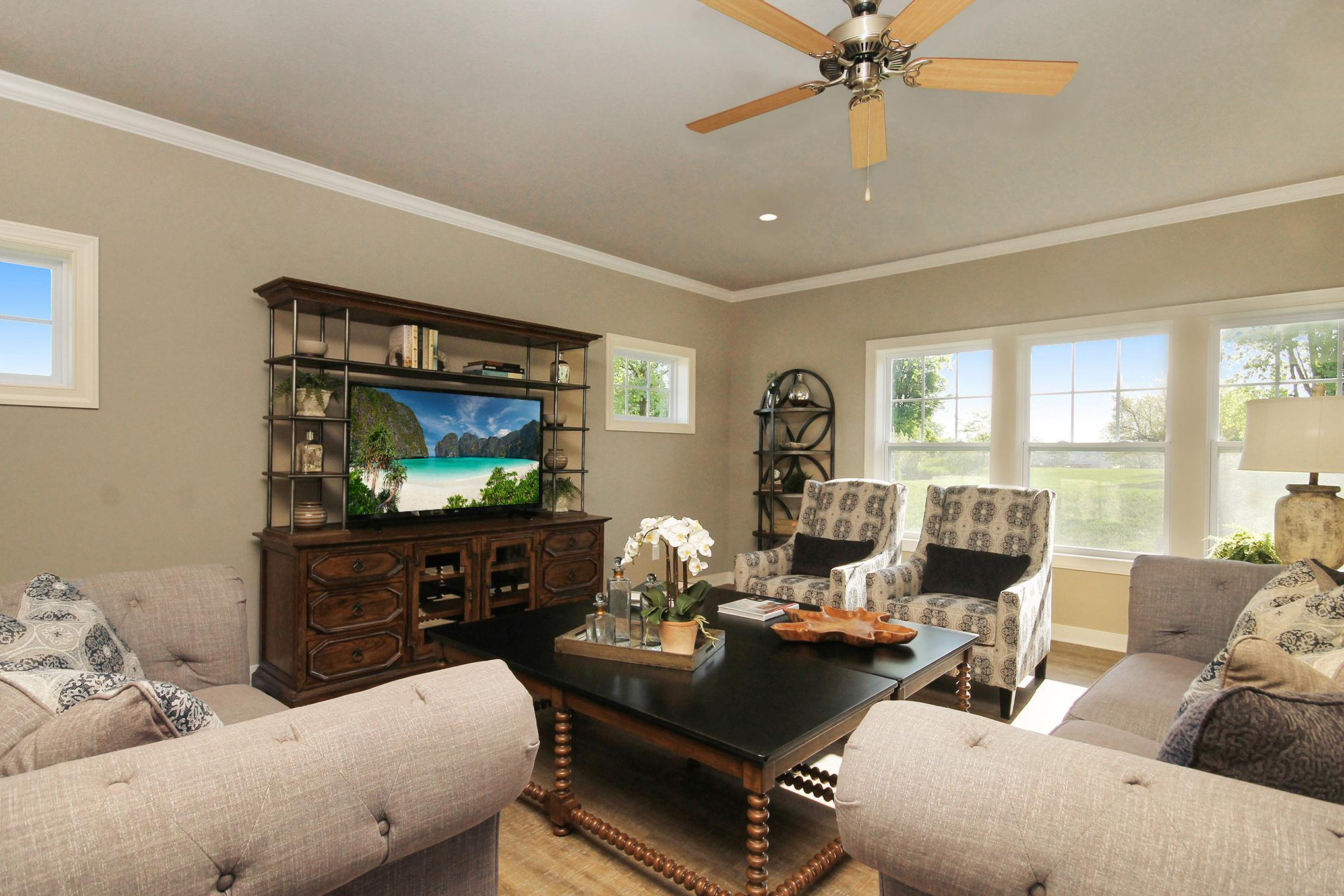 Living Area featured in the Elements 2700 By Allen Edwin Homes in Kalamazoo-Battle Creek, MI