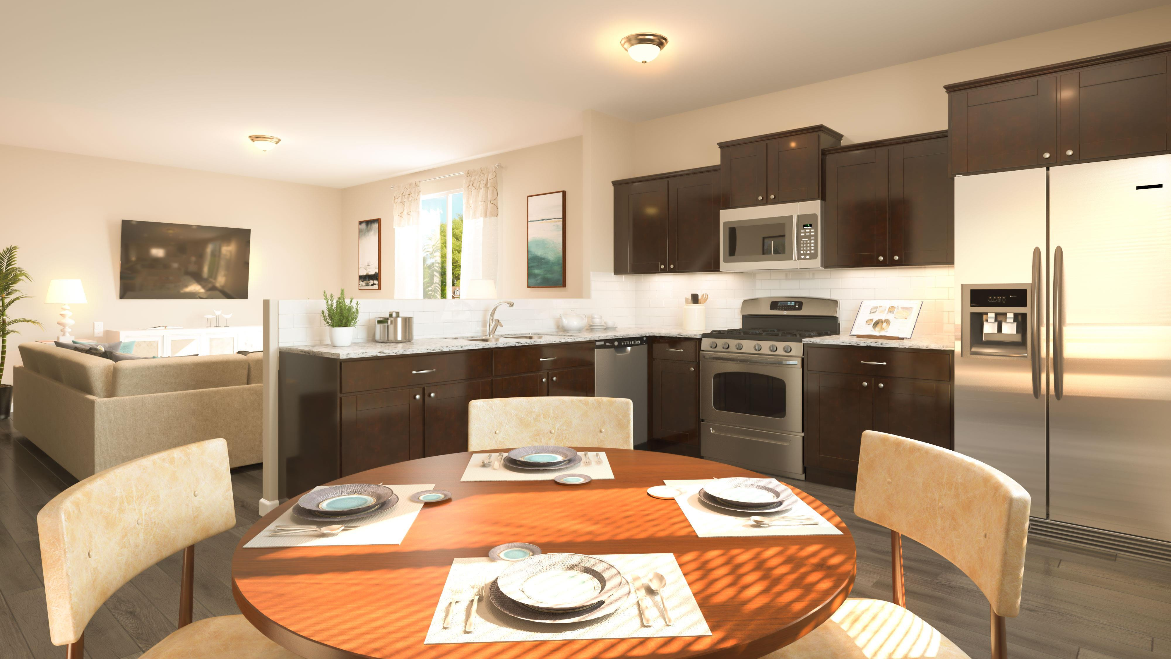 Kitchen featured in the Integrity 1560 By Allen Edwin Homes in Grand Rapids, MI