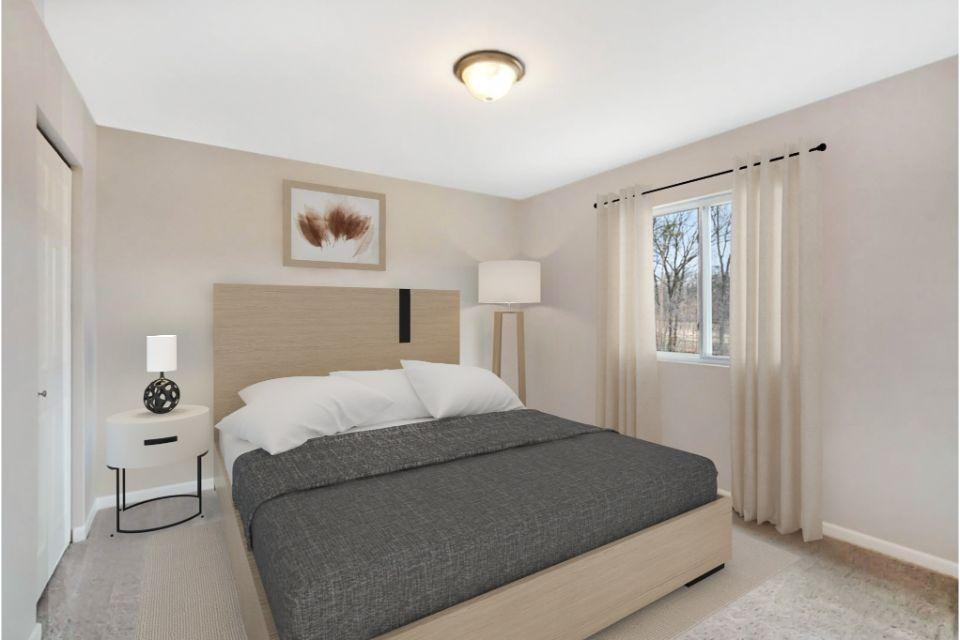 Bedroom featured in the Integrity 1810 By Allen Edwin Homes in South Bend, IN
