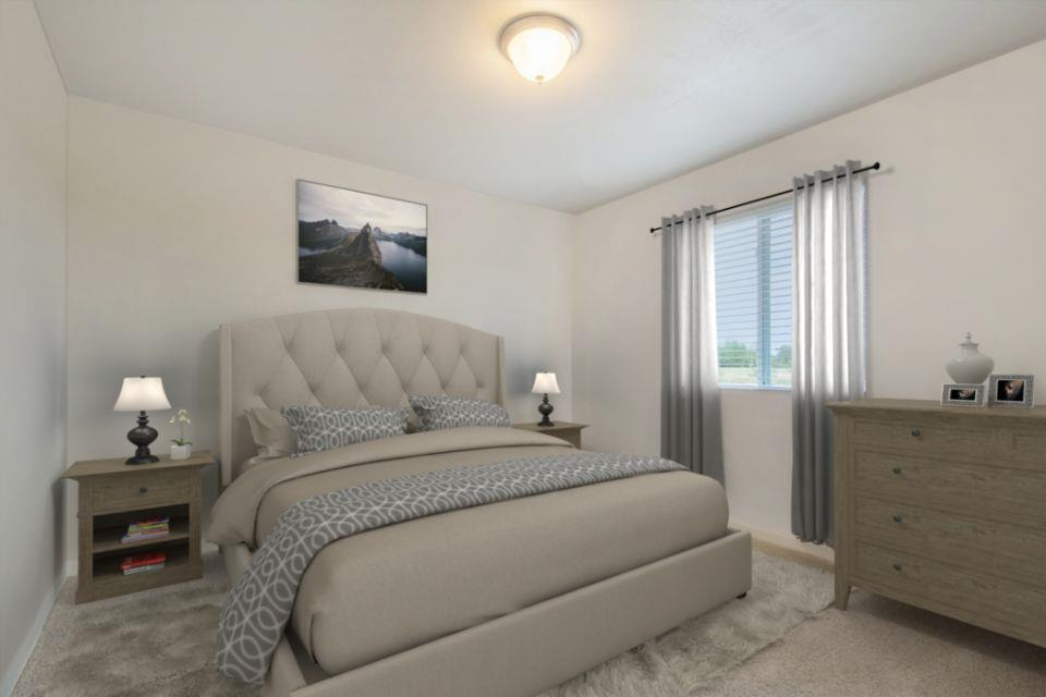 Bedroom featured in the Integrity 2000 By Allen Edwin Homes in Kalamazoo-Battle Creek, MI