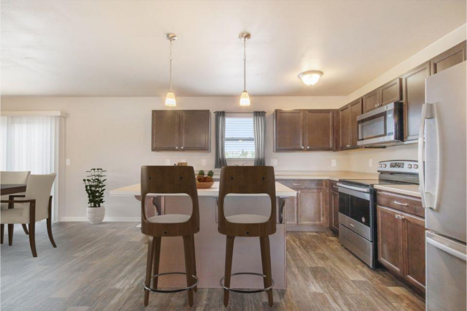 Kitchen featured in the Integrity 2000 By Allen Edwin Homes in Grand Rapids, MI