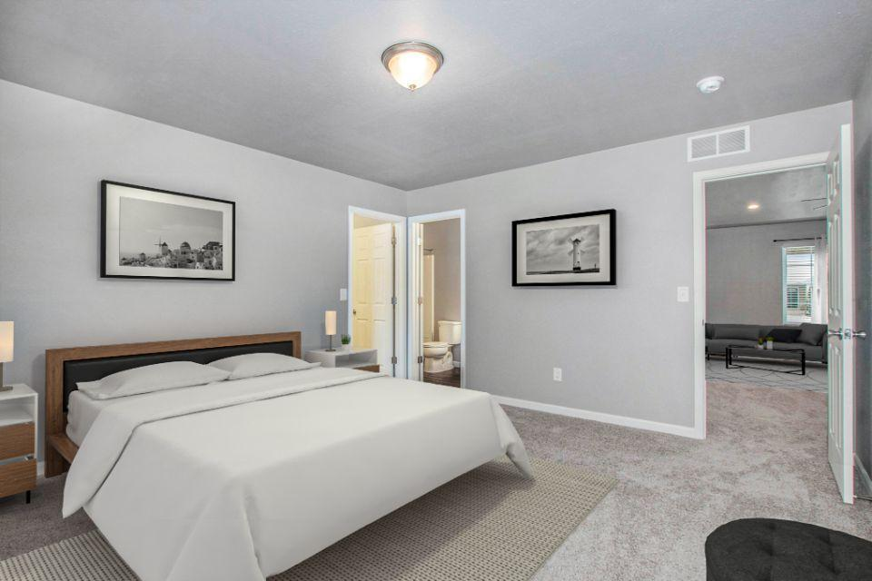 Bedroom featured in the Integrity 2190 By Allen Edwin Homes in Kalamazoo-Battle Creek, MI