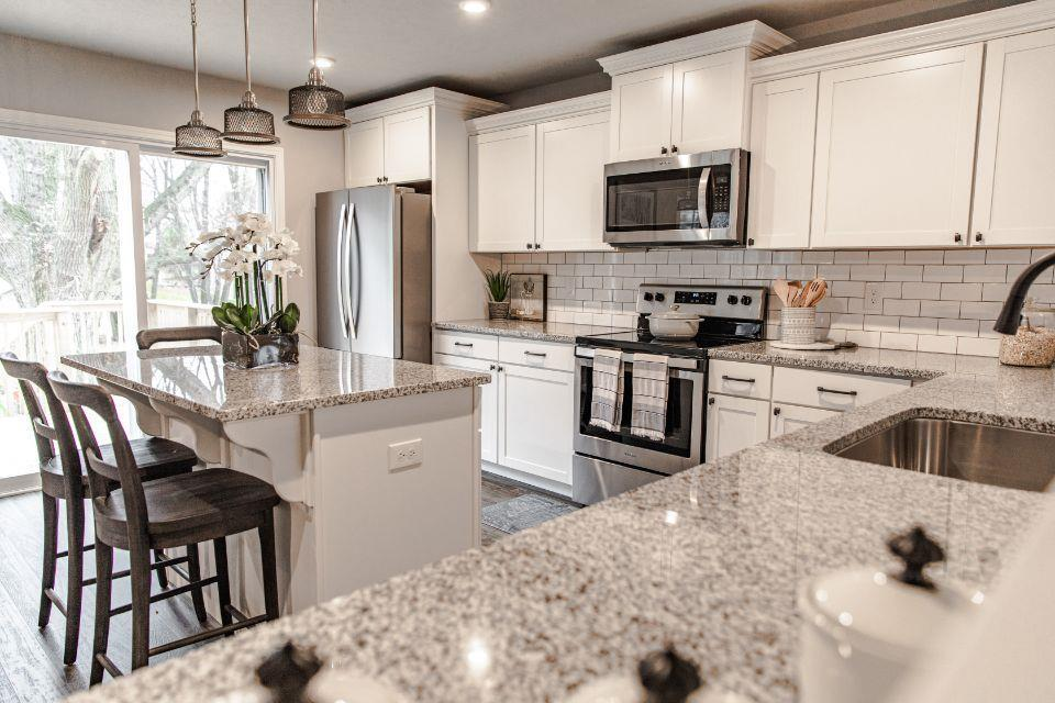 Kitchen featured in the Integrity 2280 By Allen Edwin Homes in Grand Rapids, MI