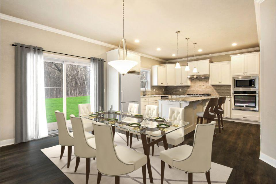 Kitchen featured in the Traditions 2600 V8.1b By Allen Edwin Homes in Kalamazoo-Battle Creek, MI