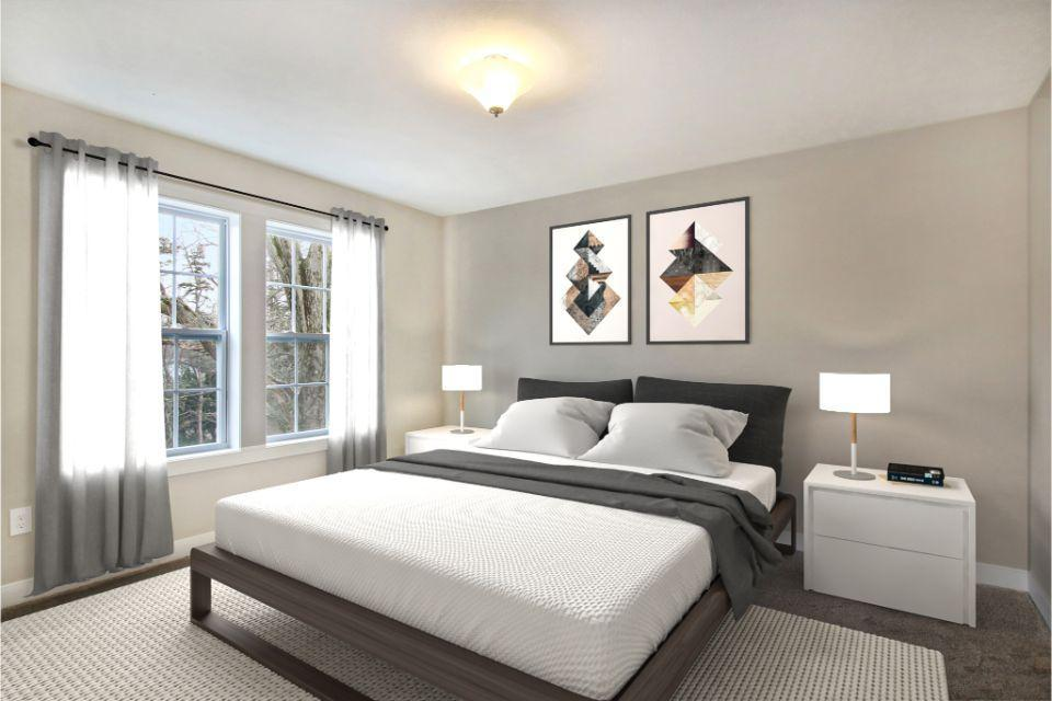Bedroom featured in the Traditions 2600 V8.1b By Allen Edwin Homes in South Bend, IN