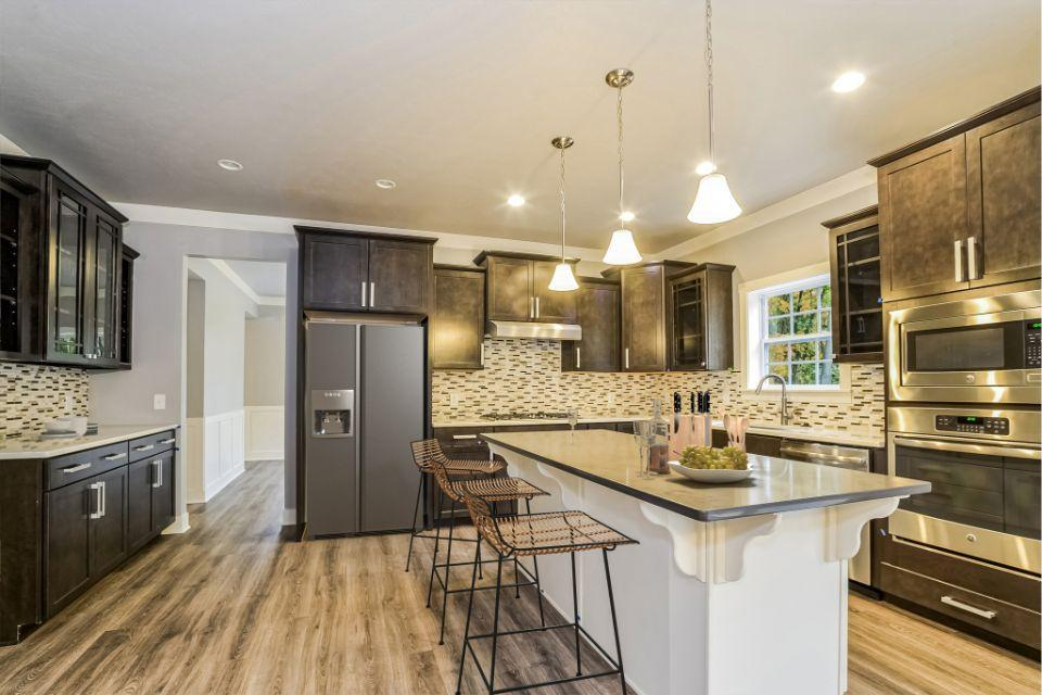 Kitchen featured in the Traditions 3400 V8.0b By Allen Edwin Homes in Flint, MI