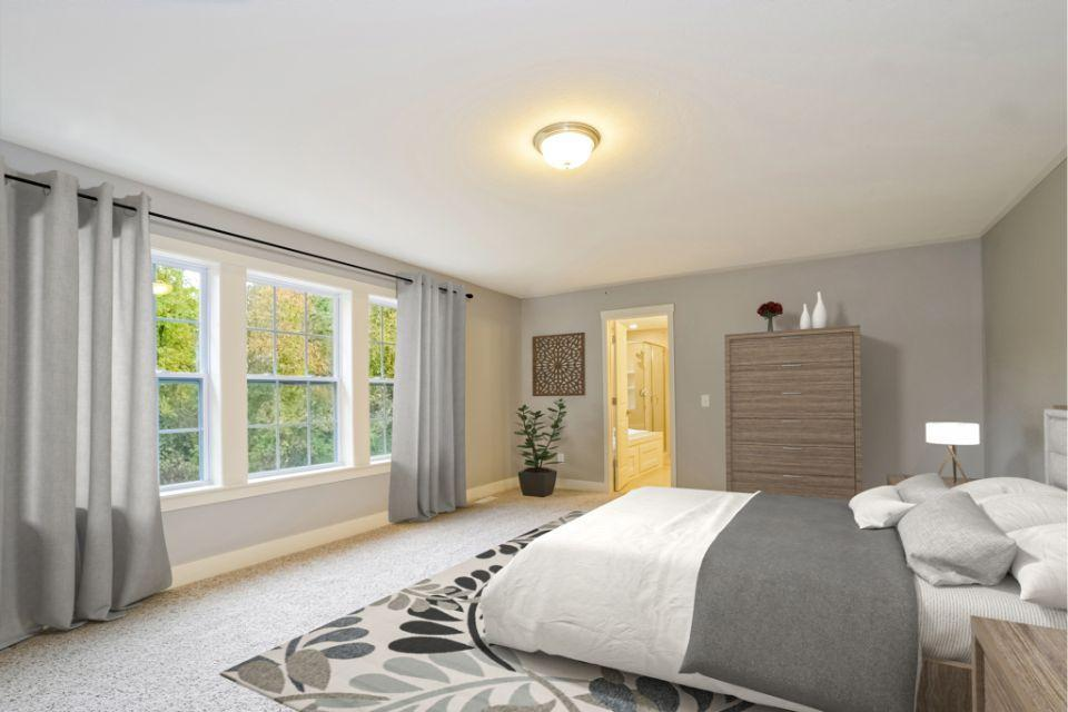 Bedroom featured in the Traditions 3400 V8.0b By Allen Edwin Homes in South Bend, IN
