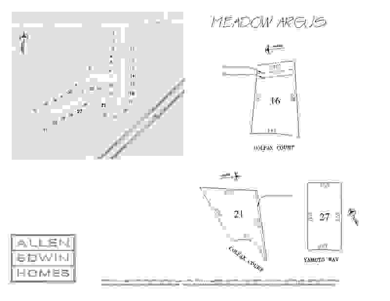 Meadow Argus Plat Map