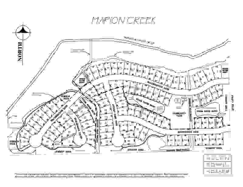 Marion Creek Plat Map