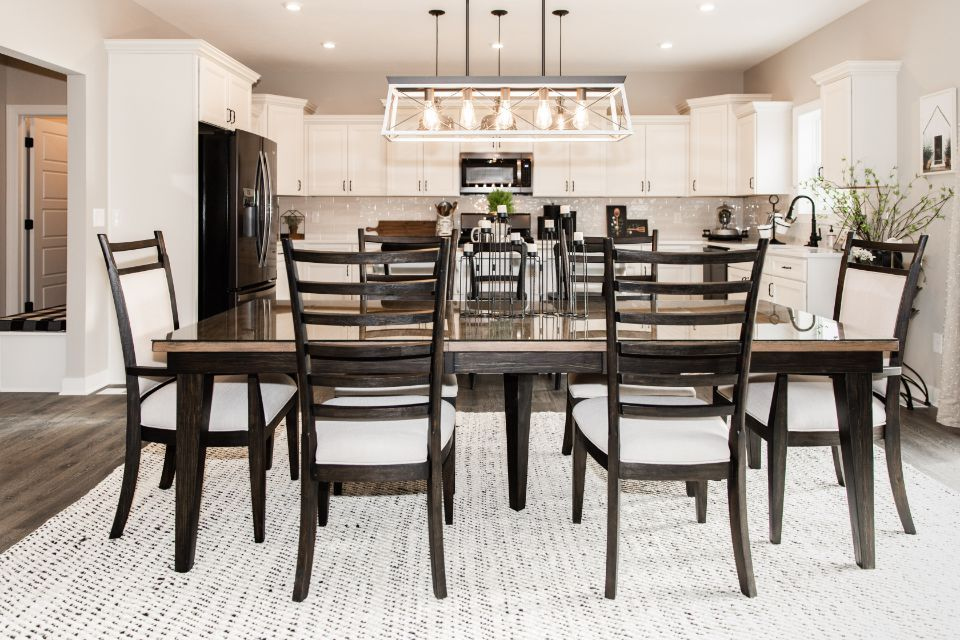 Living Area featured in the Elements 2700 By Allen Edwin Homes in South Bend, IN