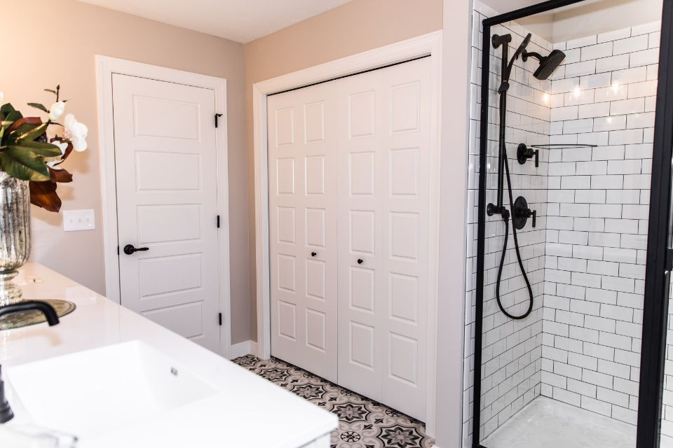 Bathroom featured in the Elements 2700 By Allen Edwin Homes in South Bend, IN