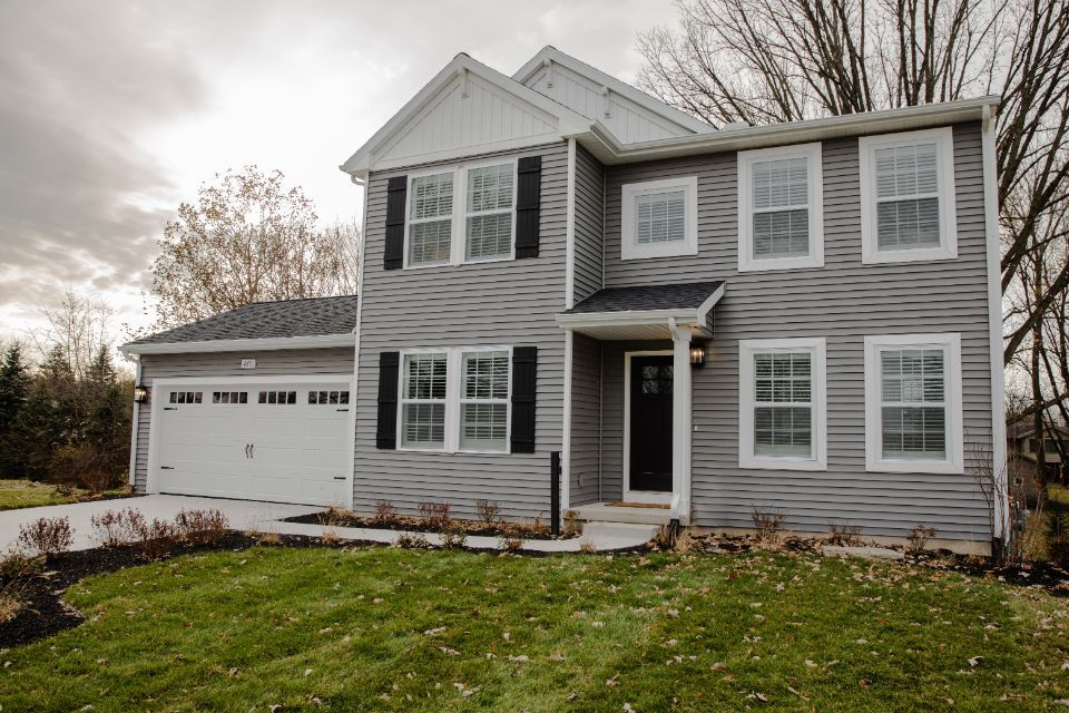 Exterior featured in the Integrity 2280 By Allen Edwin Homes in Grand Rapids, MI