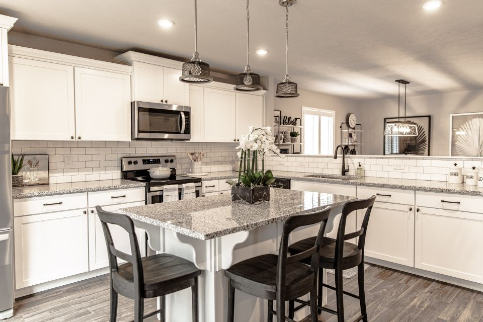 'Edge of the Woods' by Allen Edwin Homes in South Bend