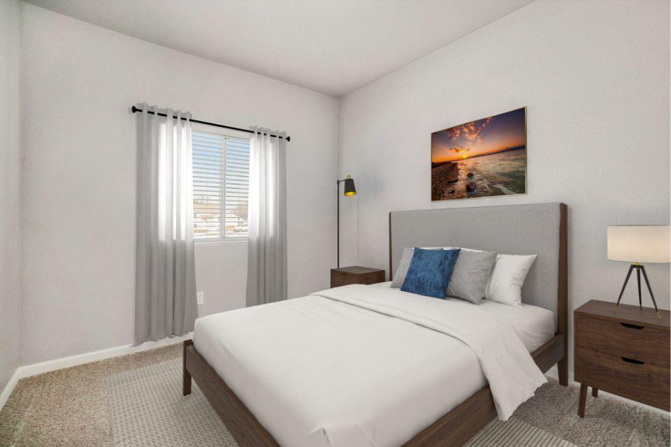 Bedroom featured in the Integrity 1530 By Allen Edwin Homes in Jackson, MI