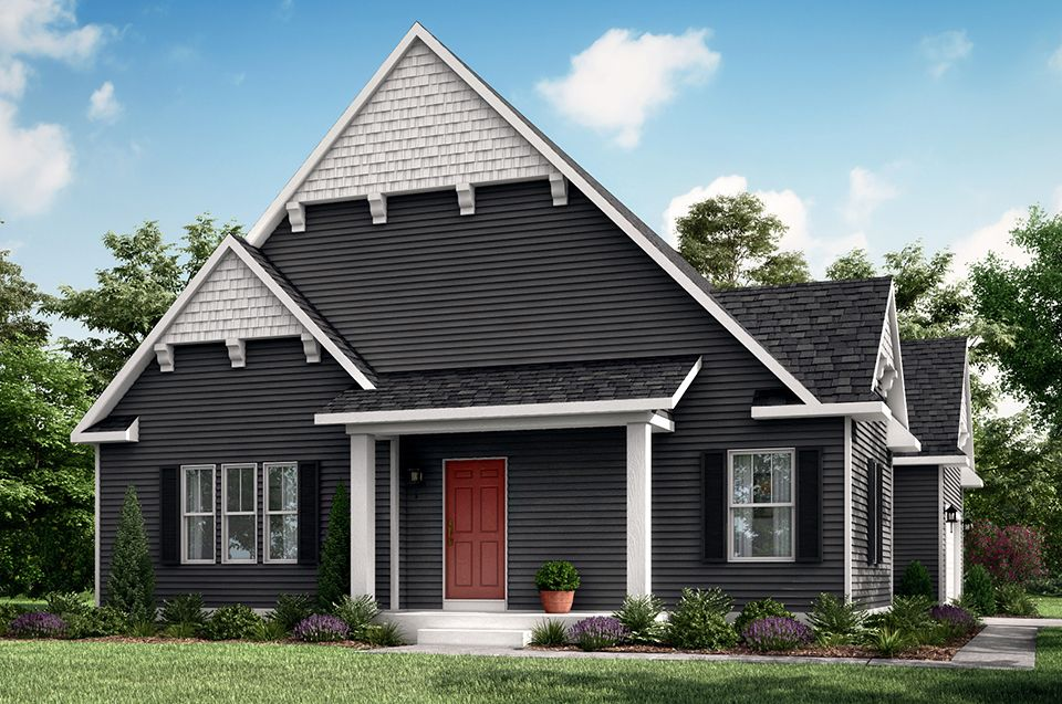 Exterior featured in the Howden A By Allen Edwin Homes in Ann Arbor, MI