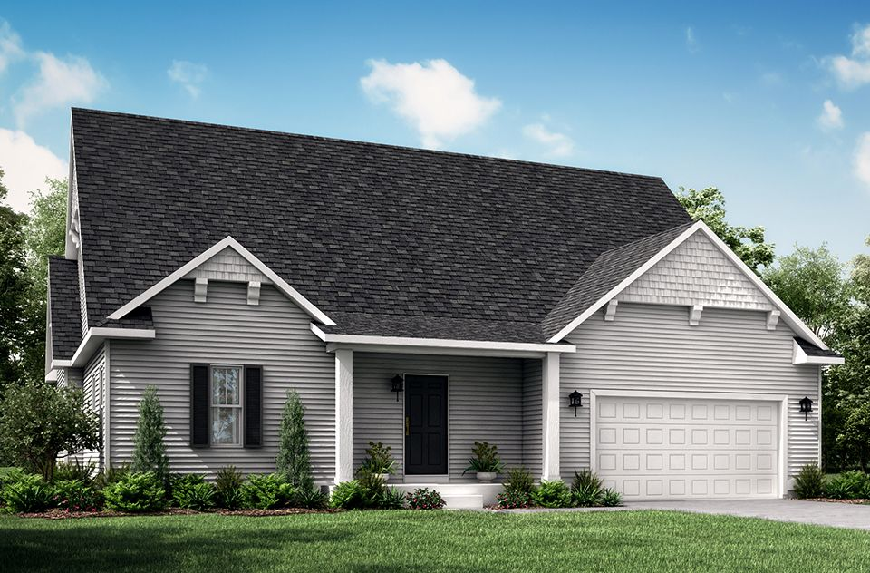 Exterior featured in the Howden B By Allen Edwin Homes in Ann Arbor, MI