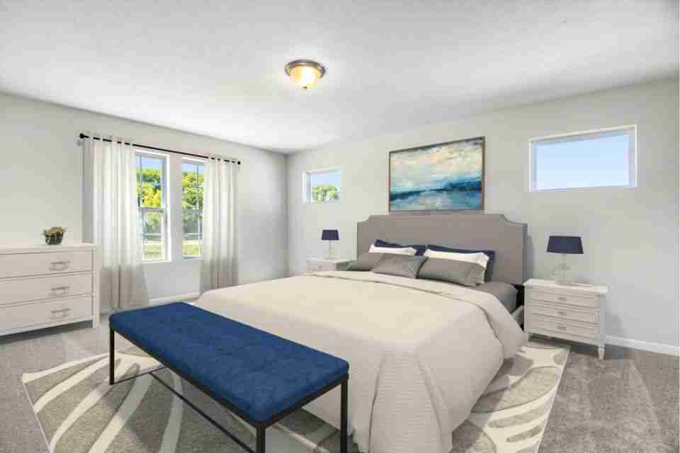 Master Bedroom - Virtual Stage