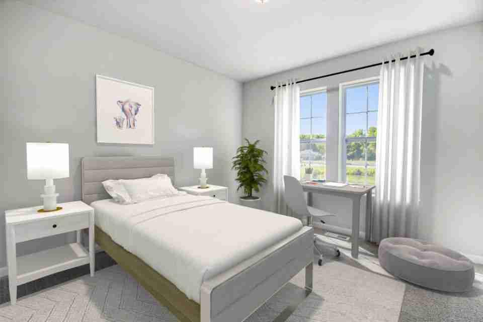 Bedroom 2 - Virtual Stage