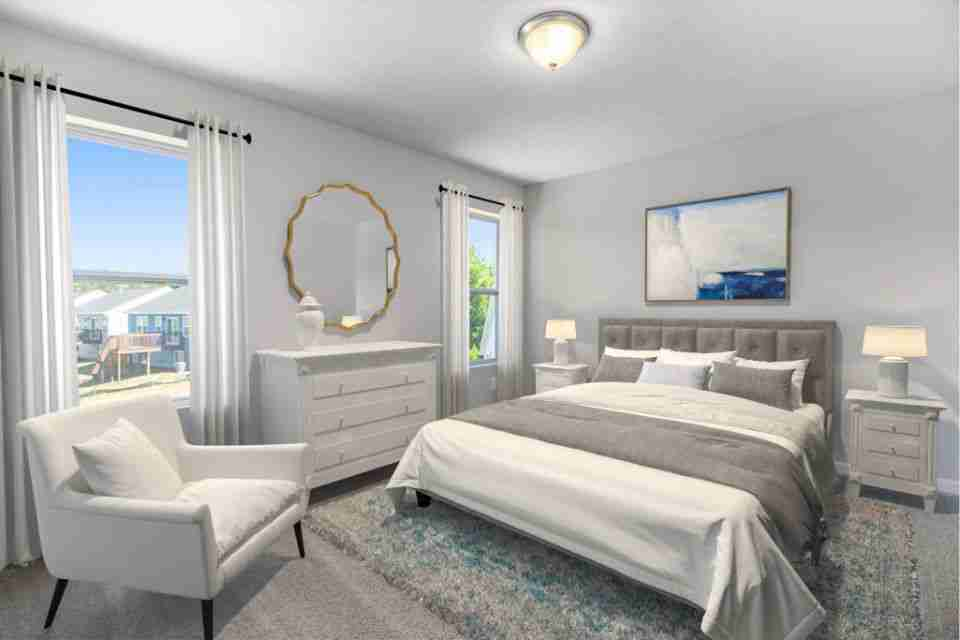 Bedroom 3 - Virtual Stage