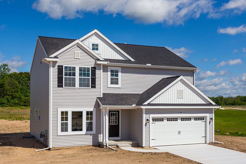 Exterior featured in the Elements 2390 By Allen Edwin Homes in Benton Harbor, MI