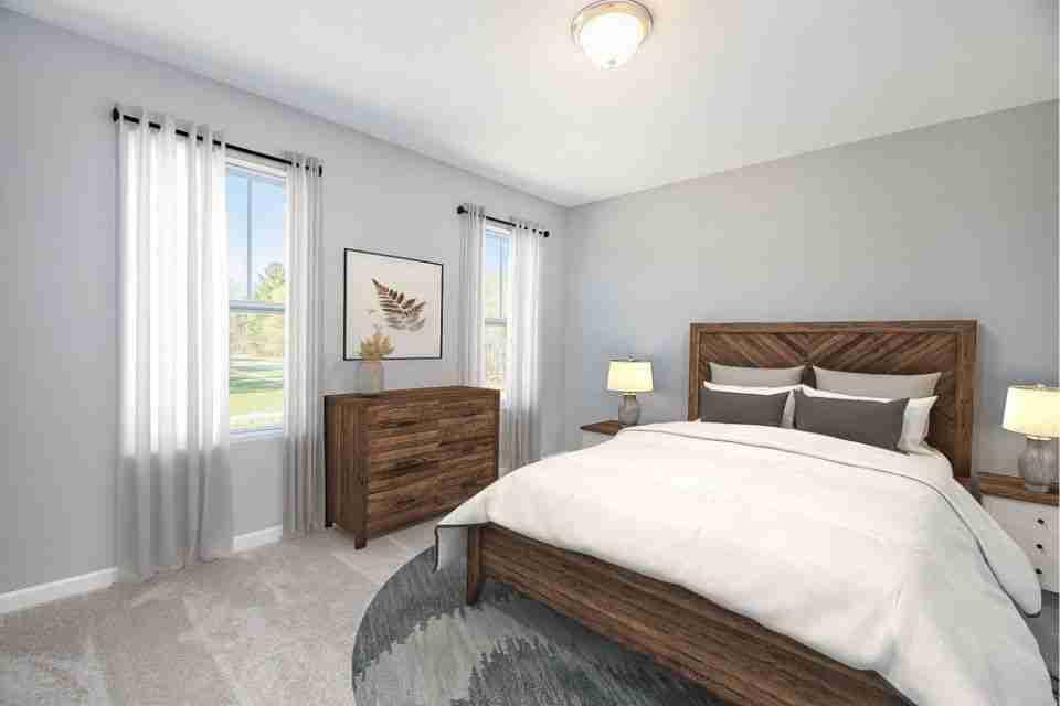 Bedroom 2 Virtual Staging