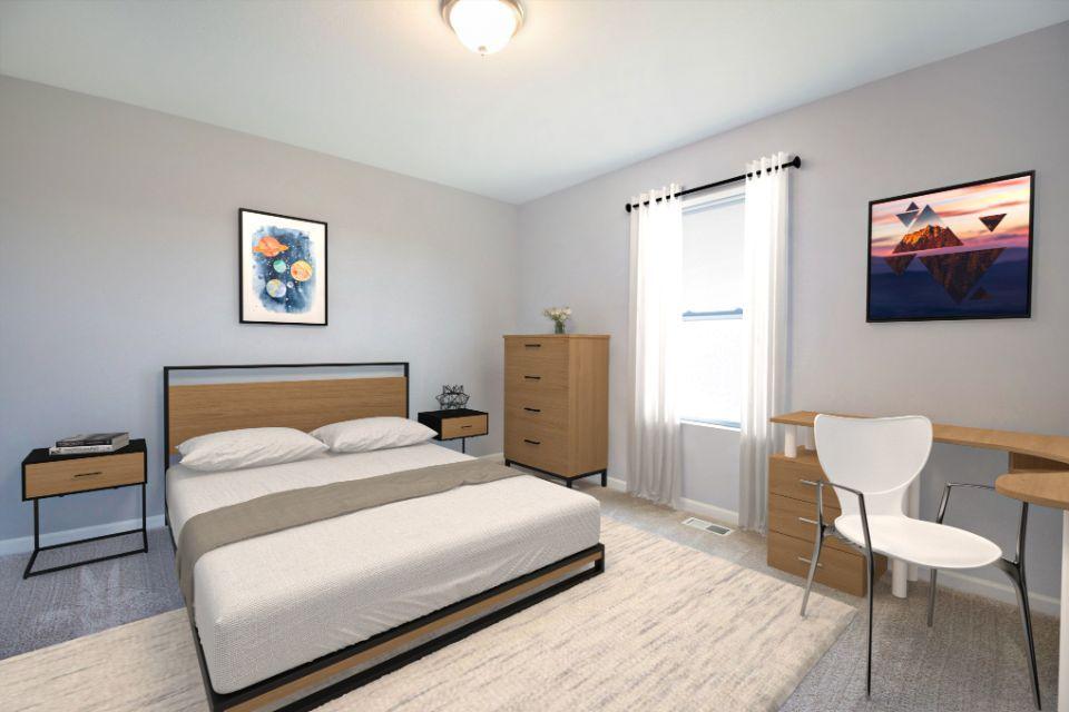 Bedroom featured in the Elements 1870 By Allen Edwin Homes in Kalamazoo-Battle Creek, MI