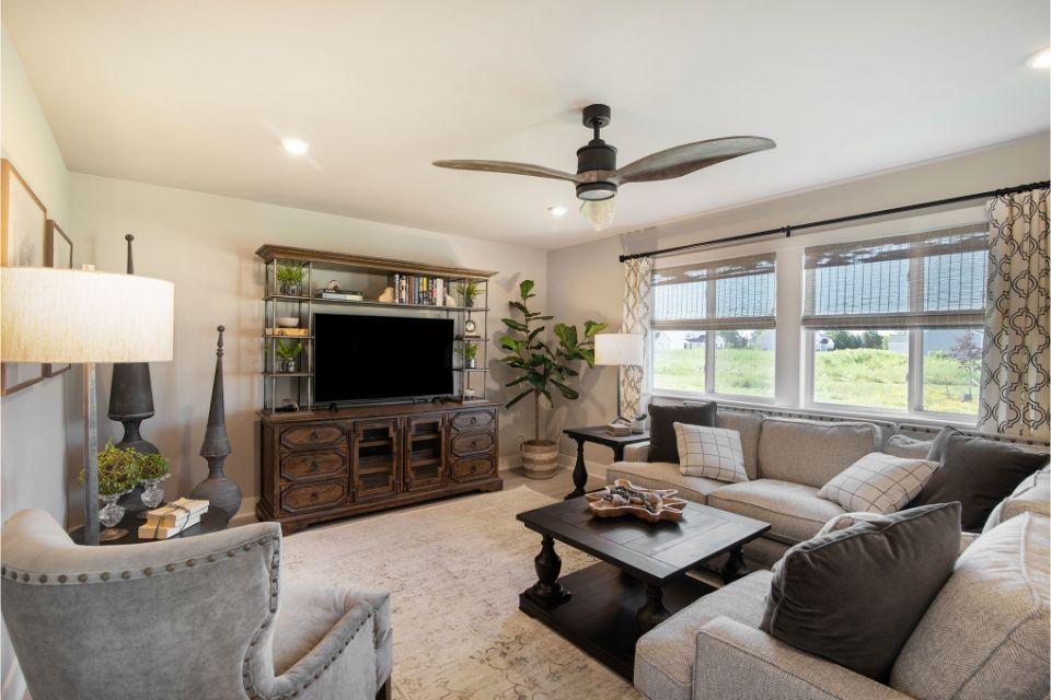Living Area featured in the Integrity 2280 By Allen Edwin Homes in Kalamazoo-Battle Creek, MI